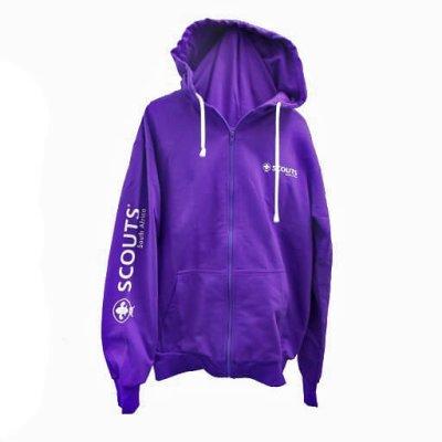 SCOUTS SA Hoodie Purple