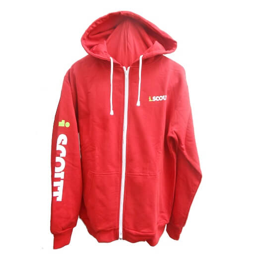 i.SCOUT Hoodie Red