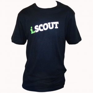 i.SCOUT T-Shirt Black
