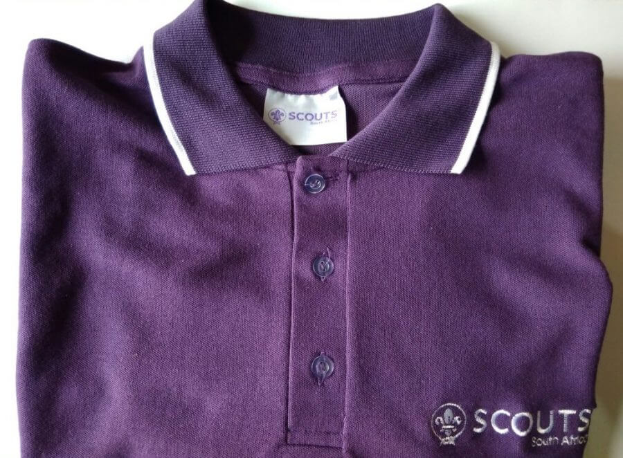 SCOUTS SA Embroidered Unisex Golf Shirt