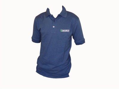 i.SCOUT Golf Shirt Grey