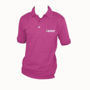i.SCOUT Golf Shirt Pink