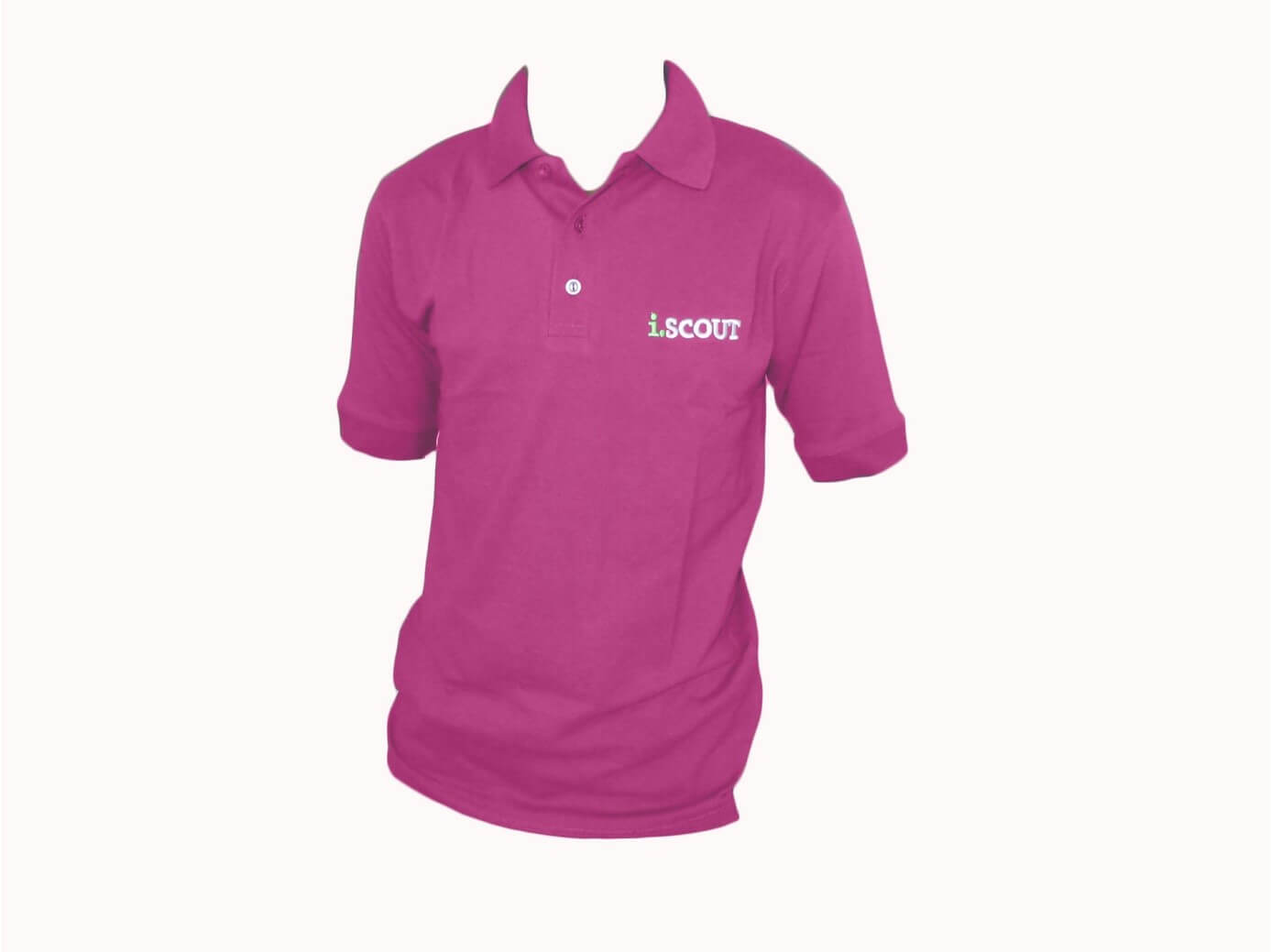 i.SCOUT Golf Shirt Pink