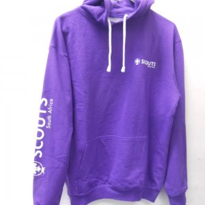 purple hoodie pouch online