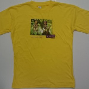 Cub character t-shirt 1 yellow