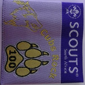 Cubs 100 badge