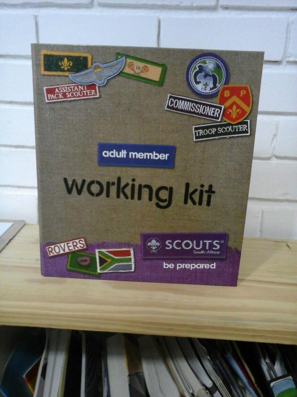 adult member - working kit