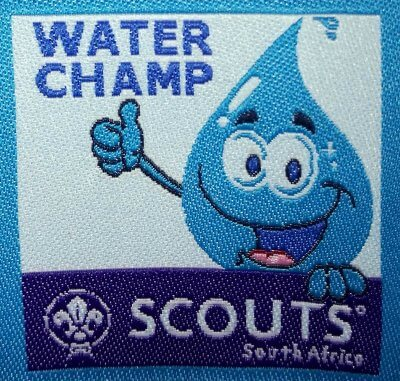 Water Champ Challenge Badge