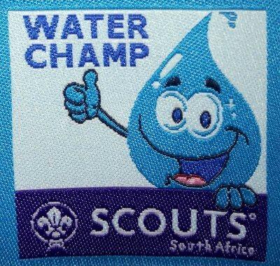 Water Champ Challenge Badge